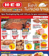 heb weekly ad 11 18 11 26 2015 happy thanksgiving