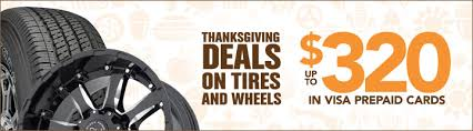 thanksgiving deals rebates on tires wheels discount tire