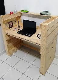 Diy Pc Desk by Build Your Own Multi Purpos Wooden Pallets Desk Easy Diy And