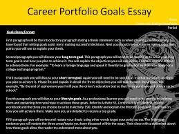 how to write a statement of education and career goals stars