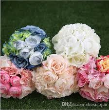 Cheapest Flowers White Peony Rose Wedding Bouquets Beautiful Wedding Bouquets