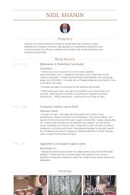 Marketing Coordinator Resume Sample by Webmaster Resume Samples Visualcv Resume Samples Database