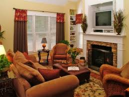 Traditional Decorating Ideas For Small Living Rooms Traditional Living Room In Cinnamon Russet Furniture Ideas