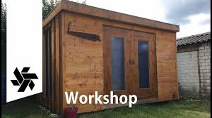 building the workshop tiny house garden shed youtube
