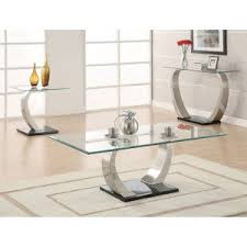 Glass Sofa Table Glass Top Console Tables Hayneedle