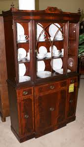 Vintage China Cabinets Cool Vintage China Cabinet On Antique Mahogany China Cabinet And