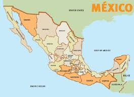mexico toll road map travel roadmap central east route from canada to