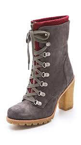 s ugg australia brown zea boots ugg australia w fabrice boots with lug sole shopbop