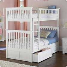 Columbia Bunk Bed Columbia Bunk Bed With Two Raised Panel Bed Drawers