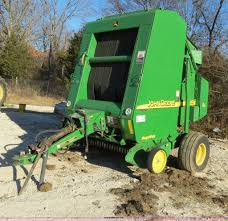 2004 john deere 467 round baler item b4822 sold october