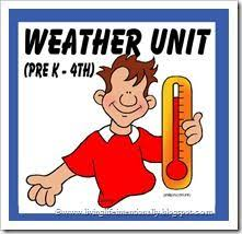 free mega weather unit with worksheets science projects and