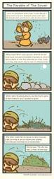 book of mark parable of the sower this and that comic