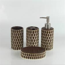 White Bathroom Accessories Ceramic by Aliexpress Com Buy 4pcs Set Bathroom Accessories Set Ceramic