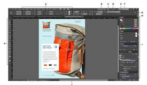 in design workspace basics in indesign