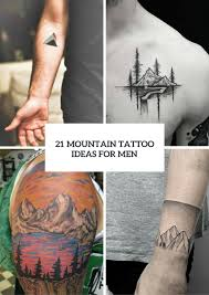 ideas for men 21 stunning mountain tattoo ideas for men styleoholic