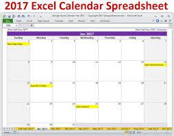 microsoft excel calendar template 2017 calendar monthly printable