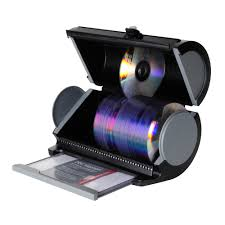 Dvd Storage by Disc Manager 80 Disc Storage In Black