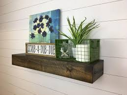 floating shelves deep rustic floating shelves deep