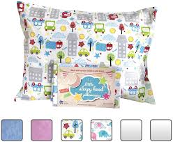 amazon com little sleepy head toddler pillow white 13 x 18 baby