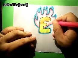imagenes para dibujar letras graffitis como dibujar letras graffitis letra e how to draw letters in