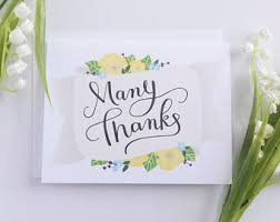 thank you cards bulk lettered thank you card set thank you note card set