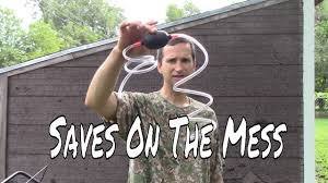 how to change lawn mower oil with a siphon youtube