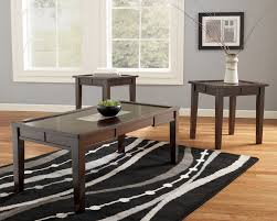 coffee table ashley furniture end tables glass and 3 piece sets