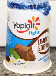 yoplait light yogurt ingredients yoplait light limited edition chocolate mint review youtube