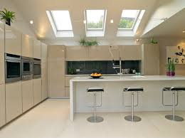 residential kitchen design exterior design attractive tri fold tempered glass fixed velux