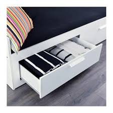 How To Build A Sofa Frame Brimnes Daybed Frame With 2 Drawers Ikea
