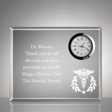 personalized doctors keepsake gifts photo frames plaques clocks