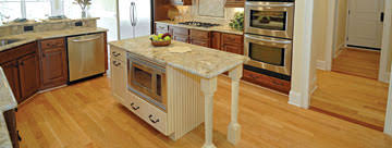 kitchen island columns kitchen jpg