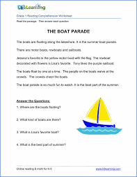reading comprehension worksheet sample haseena nitespattana