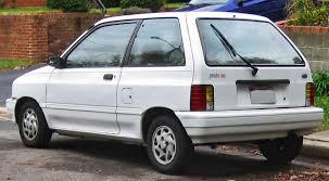 1992 ford festiva partsopen