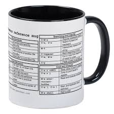 amazon com cafepress emacs reference mug unique coffee mug