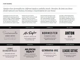 canva font pairing ebook how to design a memorable brand that catches on