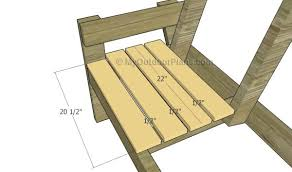 double chair bench with table plans myoutdoorplans free