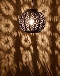 hand chiseled iron moroccan hanging lamp moroccan bazaar