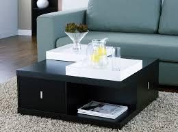Black Modern Coffee Table Popular Of Modern Square Coffee Table Modern Square Black Storage