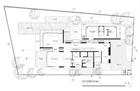 car service center floor plan 22 oei tiong ham park ar43 architects architects villa plan