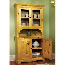 downloadable woodworking project plan to build heirloom pine hutch