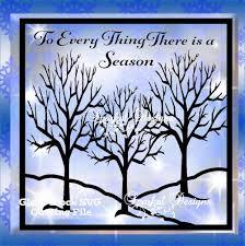 bare tree winter scene silhouette cut file glass block winter