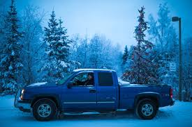 christmas cheer in the bed of an alaska pickup anchorage daily news
