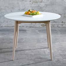 table cuisine ronde blanche table ronde cuisine table ronde blanche avec rallonge maison boncolac