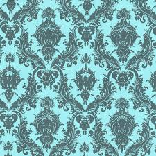 wall decor wonderful tempaper wallpaper in turquoise and floral