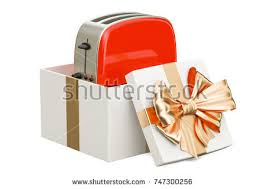 Toaster Box Silver Toaster 3d Rendering Isolated On Stock Illustration