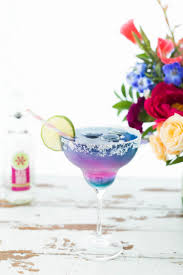 happy birthday margarita glass color changing unicorn margarita popsugar food