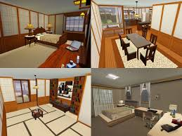 mod the sims himeya inn another japanese house the house includes 3 bedrooms and 2 bathrooms with separated bath toilet it has a tiny waterfall 2 carports indoor pool and a garden for your