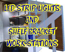 Led Under Cabinet Strip Light by Make Well Lit Work Spaces Diy Led Under Cabinet Strips U2013 Designer