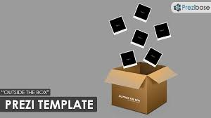 outside the box prezi template prezibase
